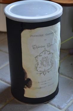 コーヒー缶リメイク