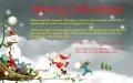 Christmas Greeting 2014 アロマスクール マッサージスクール オーストラリア