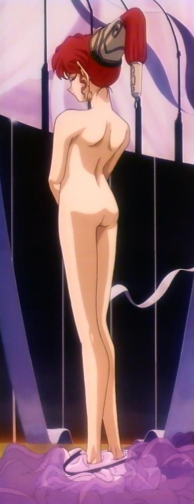 無責任艦長タイラーOVA版特別編 アザリン・ド・エル・クラン・ライクンの全裸全身背面5x