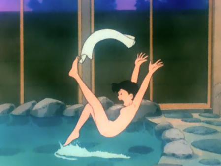 エスパー魔美 ノンちゃん(桃井のり子)の全裸温泉入浴シーン6