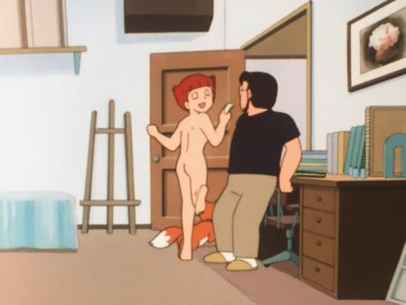 エスパー魔美 佐倉魔美の全裸ヌードモデル11