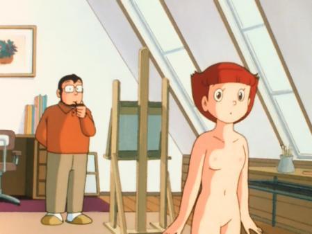エスパー魔美 佐倉魔美の全裸ヌードモデル12