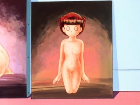 エスパー魔美 佐倉魔美の全裸ヌードモデル絵画6