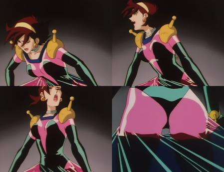 機動武闘伝Gガンダム ファイティングスーツ装着で喘ぎ悶えるレイン・ミカムラ8