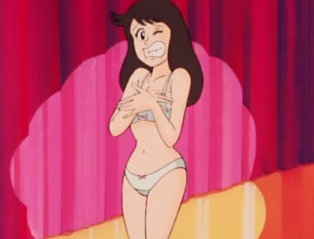 ゲームセンターあらし16 エリカ・能登の下着姿ブラパンツ