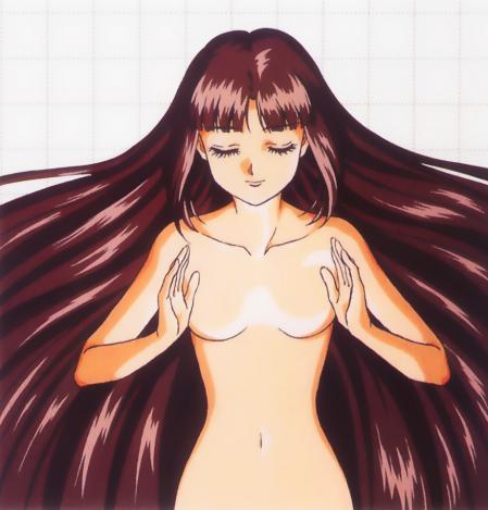 機動新世紀ガンダムX14 ティファ・アディールの全裸 アニメージュ1997年2月号