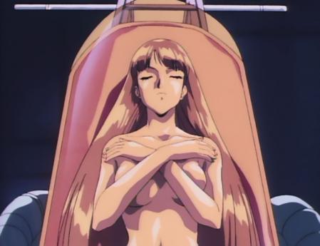 機動新世紀ガンダムX31 ルチル・リリアントの胸裸