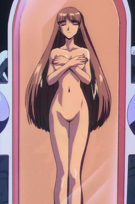 機動新世紀ガンダムX33 ルチル・リリアントの全裸