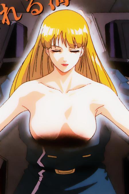 機動新世紀ガンダムX36 ルチル・リリアントの胸裸乳首