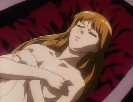 機動新世紀ガンダムX38 ルチル・リリアントの胸裸