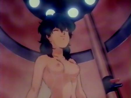 星猫フルハウス ライラ・ササニッドの胸裸シャワーシーン乳首3