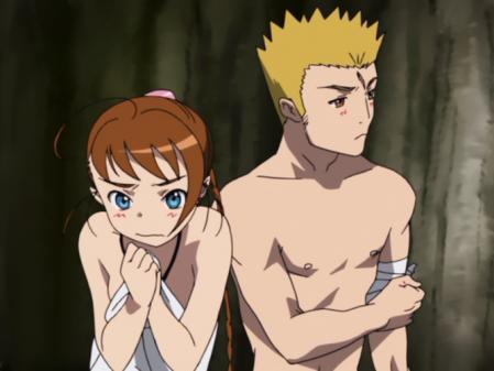 舞-乙HiME10話アリカ・ユメミヤの胸裸5