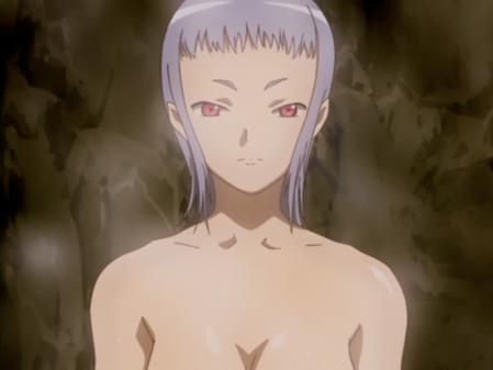 舞-乙HiME23話 ミユの胸裸温泉入浴シーン4