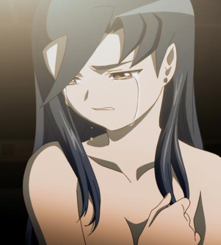 舞-乙HiME24話 ニナ・ウォンの胸裸3