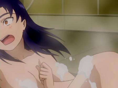 舞-乙HiME6巻映像特典 卒業写真ニナ・ウォンの胸裸入浴シーン19