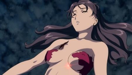 舞-乙HiME Sifr20 レナ・セイヤーズの胸裸