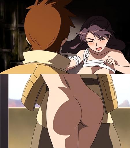 舞-乙HiME Sifr21 レナ・セイヤーズの全裸お尻