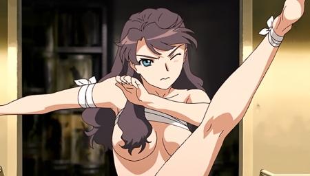 舞-乙HiME Sifr22 レナ・セイヤーズの胸裸
