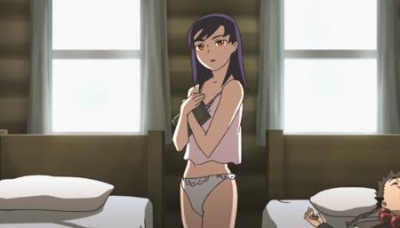 舞-乙HiME Zwei12 ニナ・ウォンの下着姿パンツ