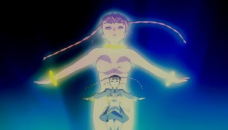 舞-乙HiME Zwei2 アリカ・ユメミヤのローブ展開シーン全裸