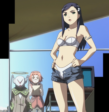 舞-乙HiME Zwei3 ナツキ・クルーガーの水着姿ビキニ