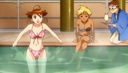 舞-乙HiME Zwei6 アリカ・ユメミヤとマーヤ・ブライスの水着姿ビキニ