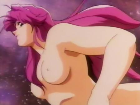 聖羅ヴィクトリーのオープニング 高城麗子の胸裸1