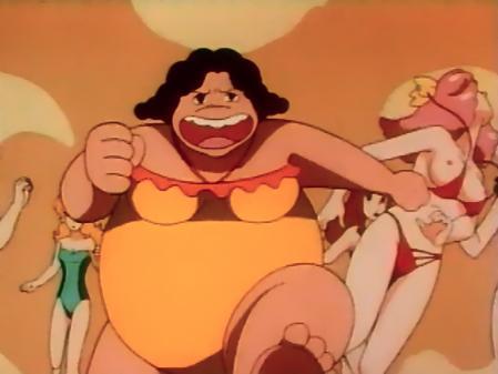 特装機兵ドルバック映像特典エンドレス・サマー ミンキーモモの胸裸乳首22