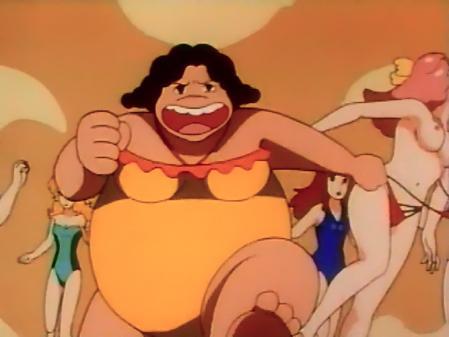 特装機兵ドルバック映像特典エンドレス・サマー ミンキーモモの胸裸乳首23