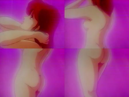 特装機兵ドルバック ルイ・オベロンの全裸シャワーシーン乳首6