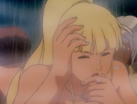 ターンエーガンダムTV版39 キエル・ハイムのシャワーシーン