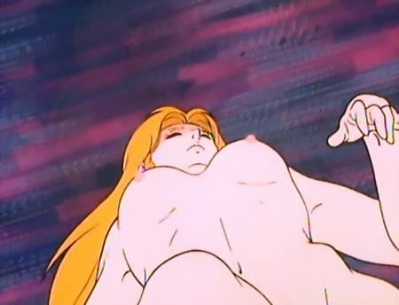 うる星やつらTV版106 イヴの全裸乳首
