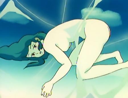 うる星やつらTV版123 妄想の全裸美女