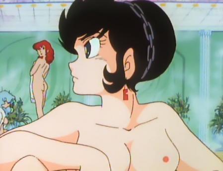 うる星やつらTV版32 弁天の胸裸乳首