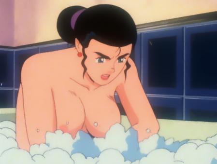 機動戦士Vガンダム ルペ・シノの胸裸入浴シーン3