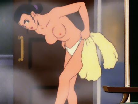 機動戦士Vガンダム ルペ・シノの胸裸パンツ6