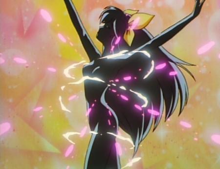 愛天使伝説ウェディングピーチ5 花咲ももこの全裸変身シーン