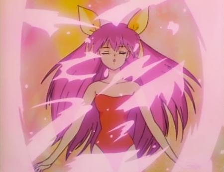 愛天使伝説ウェディングピーチ6 花咲ももこのレオタード変身シーン