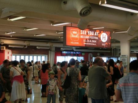 Länsiterminaali(西ターミナル駅)7
