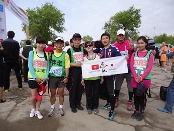 キルギスマラソン仲間たち
