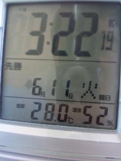 暑い!!!