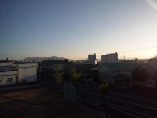 函館山が見えた!