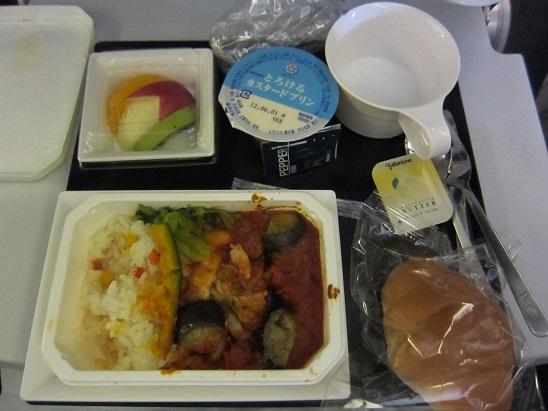 機内食 2