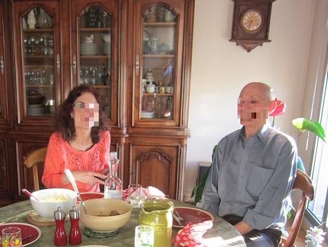 ジャンヌ・クロードさんとミッシェルさん