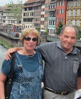 クリスチャンヌとアルベール夫妻
