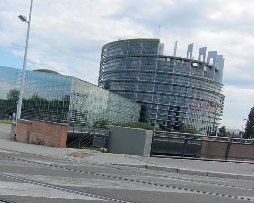 近代的なEUの建物