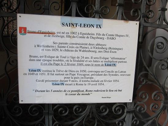 聖レオン9世のことが書いてある。