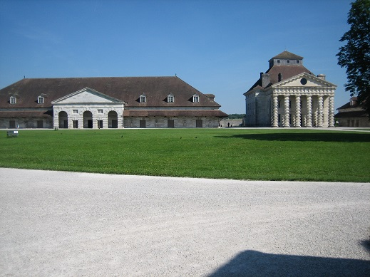 王立製塩所内部の建物