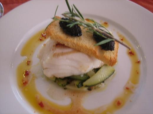 白身魚の主菜