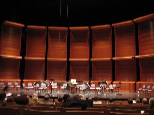コンサートホール内部